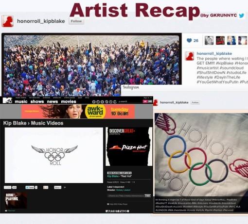 Kip Blake artist recap